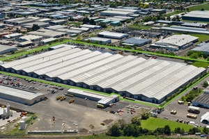 PK Furniture has taken just under 18,000sq m of space at the Enterprise Park, formerly the Wiri Woolstore.