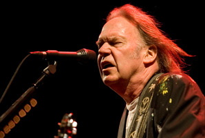 Neil Young, mammoth or dinosaur? Photo / Richard Robinson