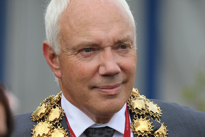 Christchurch mayor Bob Parker. Photo / Geoff Sloan
