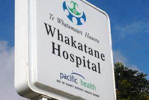 Whakatane Hospital. Photo / APN