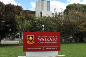 University of Waikato in Hamilton was ranked 46th. Photo / NZPA