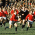 6. v Lions, Auckland, 1971 Barry Johns (with the ball) and the Lions mesmerised New Zealand crowds on their tour in 1971 with their free-flowing style. Picture: Getty Images