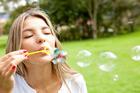 Christian students are being urged to blow bubbles instead of doing 'it'. Photo / Thinkstock