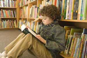 Kids who read stay out of jail (unless they grow up to be financial investment directors). Photo / Thinkstock
