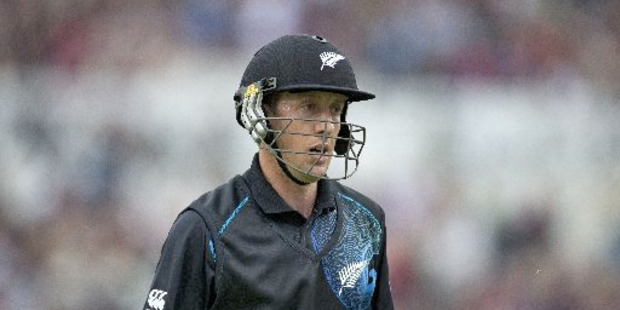 "Luke Ronchi's 47 runs in six innings at the top of the order now needs a ""cost/benefit analysis"". Photo / AP"