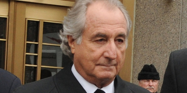 Bernie Madoff.  Photo / AP