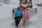 Tekapo received half a metre of snow this morning.
