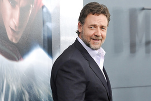 Russell Crowe attends the Man Of Steel world premiere. Photo/AP
