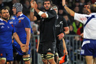 Sam Whitelock further cemented himself as one of the best locks in world rugby. Photo /Getty Images