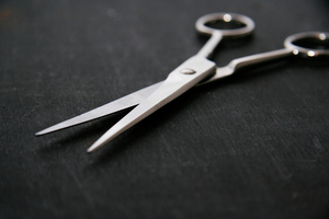 The woman was taken into a smoko room where she took a pair of scissors from a drawer and put them against her wrist. Photo / Thinkstock