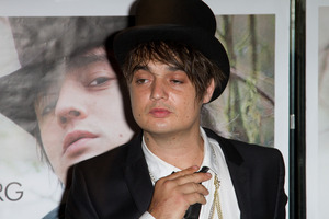 Pete Doherty. Photo / Getty Images