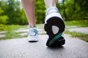 The SolePower shoe insole charges portable electronics while you walk. Photo / Thinkstock