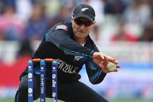 Brendon McCullum captain of New Zealand during the ICC Champions Trophy. Photo / Getty Images