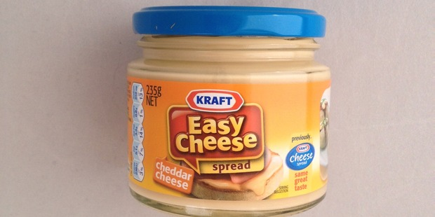 Kraft Easy Cheese Spread, $4.69 for 230g