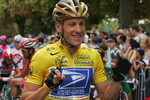 Cyclist Lance Armstrong. Photo / Getty Images