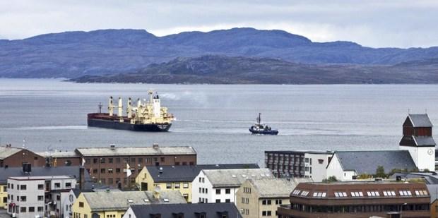 Kirkenes, northern Norway. Photo / AFP