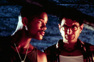 Will Smith and Jeff Goldblum in hit 1996 film Independence Day.