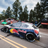 The Peugeot 208 T16 is displayed during the Pikes Peak International Hill Climb Test 1 in Colorado, USA. Photo / Red Bull