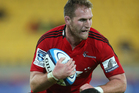 All Blacks captain Kieran Read will start on the bench for the Crusaders in their Southern derby with the Otago Highlanders in Dunedin on Saturday night. Photo / Getty Images.