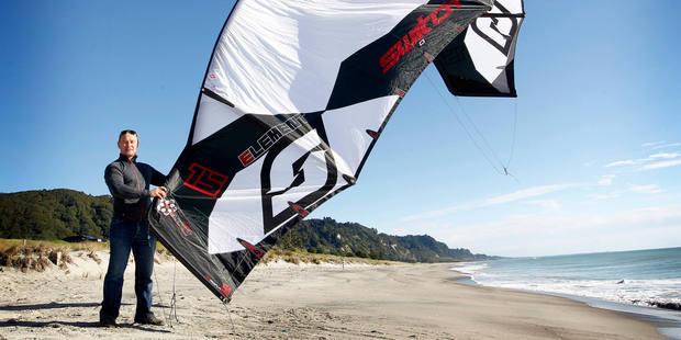 Switch Kites co-founder Jacob Kajavala has set an aggressive price structure. Photo /  Christine Cornege