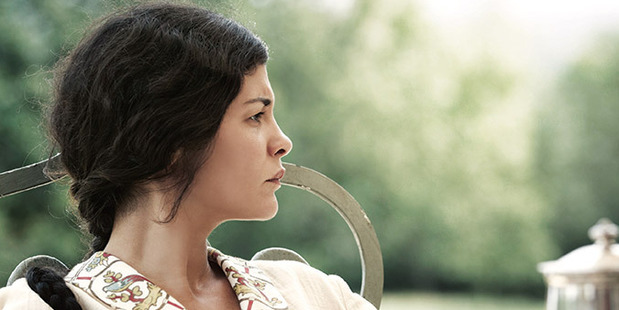 Audrey Tautou plays the dispirited wife, Therese Desqueyroux.