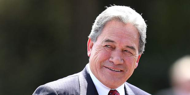 Winston Peters is on the front foot with John Key over the tax debt. Photo / Getty Images