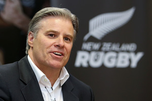 International Rugby Board Chief Executive Brett Gosper. Photo / Getty Images