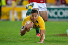 Rugby league clubs are chasing Israel Folau. Photo / Getty Images