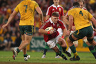 Hooker Tom Youngs and brother Ben started for the Lions last night. Photo / Getty Images