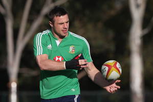 Tommy Bowe is preparing for a surprise return to test rugby tonight. Photo / Getty Images