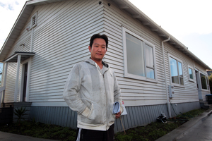 Lyheng Ke has been trying to buy a new home for the past year, without success. Photo / Doug Sherring