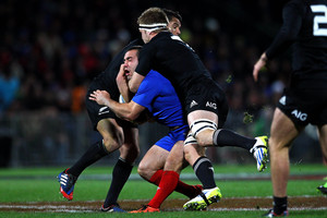 Sam Cane also failed to convince that he is ready to replace McCaw. Photo / Getty Images