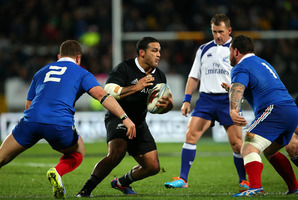 Piri Weepu struggled to get to grips with the game at Yarrow Stadium. Photo / Getty Images