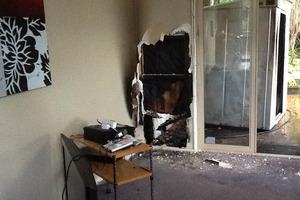 Paula Bennett's house caught fire over the weekend. Photo / Facebook
