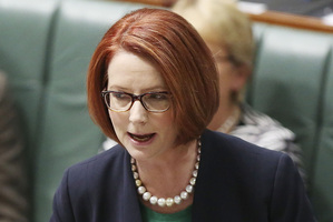 The sexist attacks on Julia Gillard have been of an almost unheard of level of obscenity in global politics. Photo / Getty Images