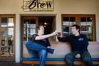 Brew bar have picked up two awards at Rotorua Hospitality Awards.  Photo / Stephen Parker