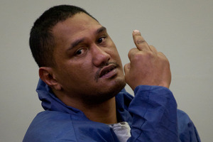 William John Murphy during his appearance in the Auckland District Court today. Photo / NZ Herald