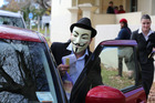 Dr Mustafa Sabanli leaves Tauranga Courthouse dressed in a mask after pleading guilty to drink driving charges. Photo / Joel Ford