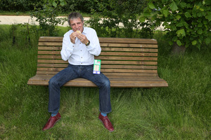 British Touring Car champion Jason Plato has launched his own sandwich.