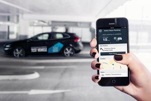 Volvo has a self-parking car.