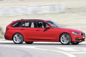The BMW 3 Series Touring X-Drive is for sale in New Zealand from $84,400.