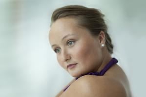 Russian soprano Julia Lezhneva.