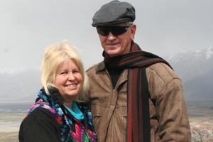 Rosemary and David Dyche in November, 2012