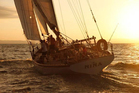 The classic American schooner Nina under sail. The yacht was last heard from on June 4.