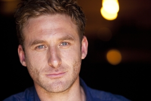 Dean O'Gorman says his character Anders, aka the god Bragi, gets to say the most outrageous things.