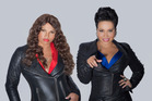 US rap duo Salt N Pepa.