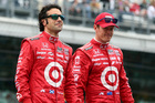 Dario Franchitti and Scott Dixon have slipped in the ranking since their Ganassi team switched to the Honda-powered Dallara DW12 car (top).Pictures / Getty Images