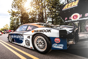 Rhys Millen, son of rally maestro Rod Millen, won last year's Pikes Peak International Hill Climb, and has high hopes for this year in his Hyundai Genesis Coupe.