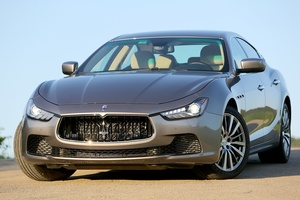 The Ghibli oozes the elegance and bling that make Maserati so desirable.