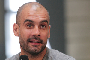 Pep Guardiola's start at Munich has been eagerly awaited. Photo / AP